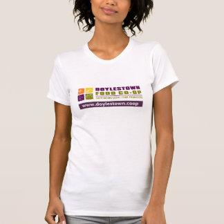 O t-shirt das mulheres de DFC Camiseta