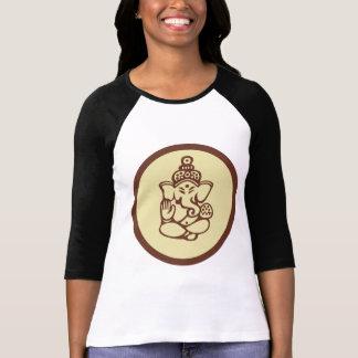 O t-shirt das mulheres de Ganesha