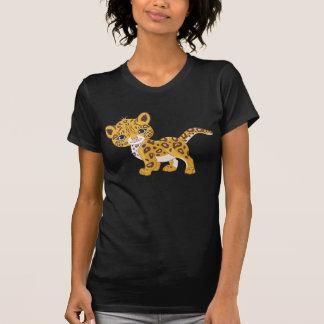 O t-shirt das mulheres de Jaguar Cub Camiseta