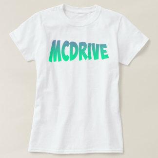 O t-shirt das mulheres de MCDrive!