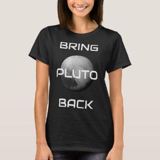 O t-shirt das mulheres de Pluto da equipe Camiseta