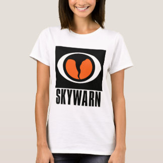 O t-shirt das mulheres de SKYWARN Camiseta