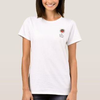 O t-shirt das mulheres do hospital de Middlesex Camiseta