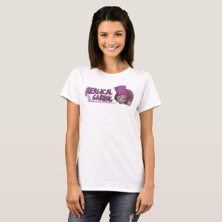 O t-shirt das mulheres do logotipo do jogo de camiseta