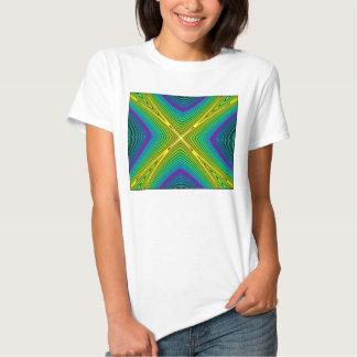 O t-shirt das mulheres:  Estradas transversaas