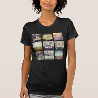 O t-shirt das mulheres feitas sob encomenda com se