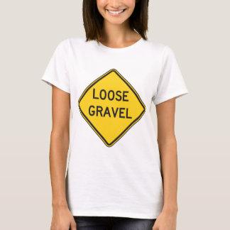 O t-shirt das mulheres fracas do cascalho camiseta