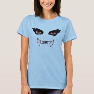 O t-shirt de Phlebotomist Camiseta