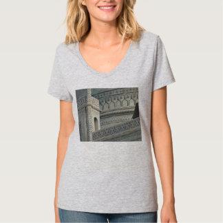 O t-shirt de Taj Mahal, embute a parte dianteira, Camiseta