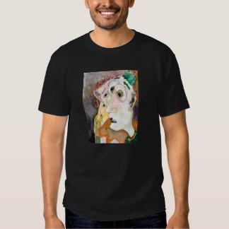 O t-shirt de transpiração do preto dos