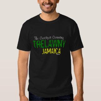 O t-shirt de Trelawny Jamaica do país da cabina do