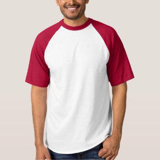O t-shirt DIY do basebol do Raglan dos homens Camiseta