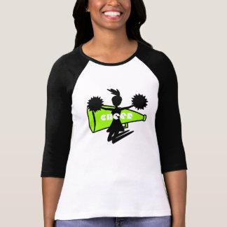 O t-shirt do cheerleader camiseta