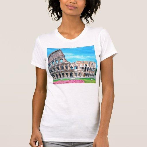 O t-shirt do coliseu