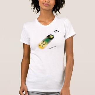 """O t-shirt do """"parafuso de 058 mulheres de Jamaica"""