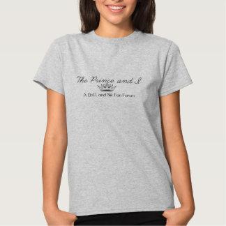 O t-shirt do príncipe e do I