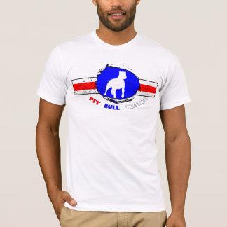 O t-shirt dos homens americanos de Terrier de Camiseta