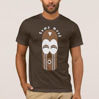 O t-shirt dos homens autênticos da máscara de Goma Camiseta