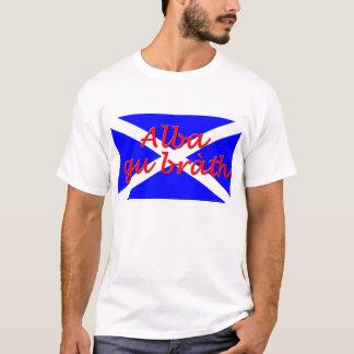 """""""O t-shirt dos homens básicos do brath alba de gu"""" Camiseta"""