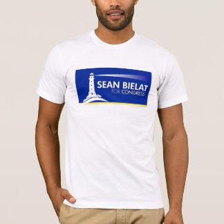 O t-shirt dos homens camiseta