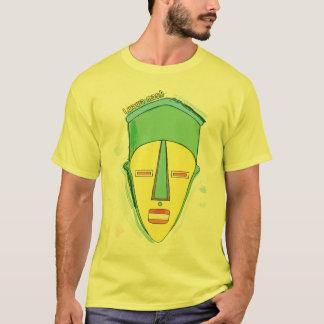 O t-shirt dos homens da máscara de Lwawa do Camiseta