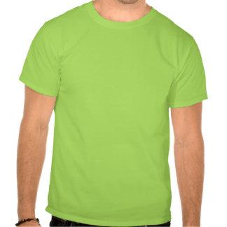 O t-shirt dos homens de advertência da POLICIAL
