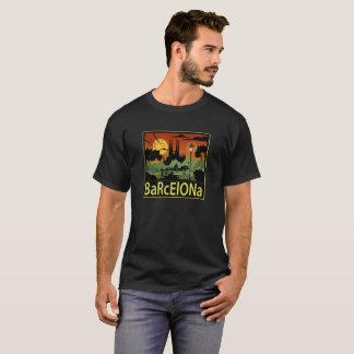 O t-shirt dos homens de Barcelona Camiseta