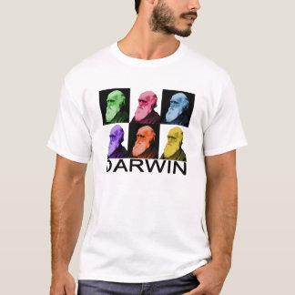 O t-shirt dos homens de Darwin do arco-íris Camiseta