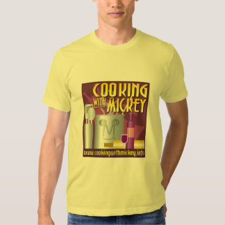O t-shirt dos homens de Mickey da sagacidade do