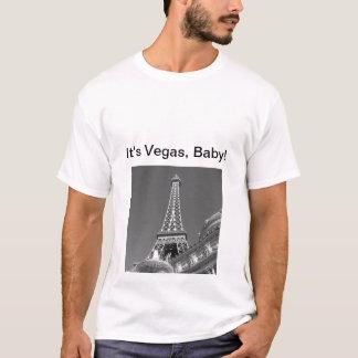 O t-shirt dos homens de Paris, Las Vegas Camiseta