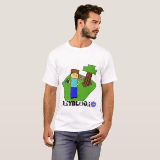 O t-shirt dos homens de Skyblocker orgulhoso Camiseta