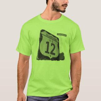 O t-shirt dos homens de US-12 Dearborn Camiseta