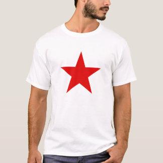 O t-shirt dos homens vermelhos comunistas da camiseta