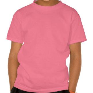 O t-shirt dos miúdos bege do gato