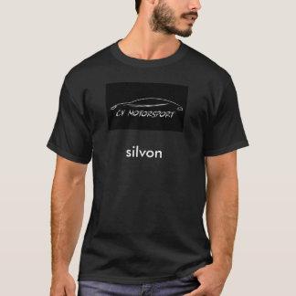 O t-shirt escuro básico dos homens camiseta