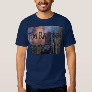 O t-shirt escuro selvagem racional