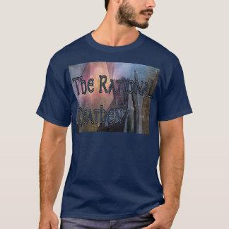 O t-shirt escuro selvagem racional camiseta