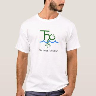 O t-shirt feliz do logotipo de Cultivator™ Camiseta