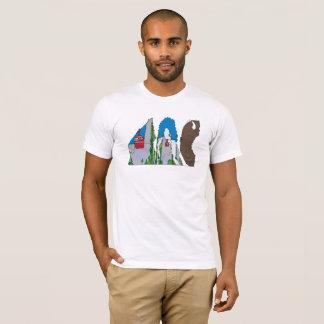 O t-shirt | JACKSON HOLE dos homens, WY (JAC) Camiseta