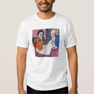 O t-shirt magnífico do branco da descoberta