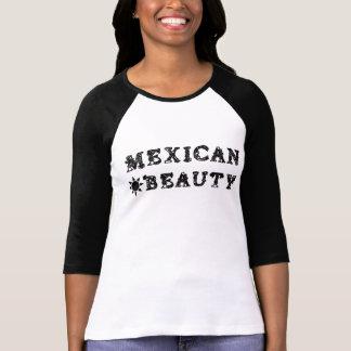 O t-shirt mexicano das mulheres