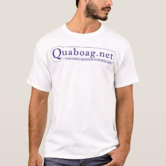 O t-shirt oficial de quaboag.net camiseta