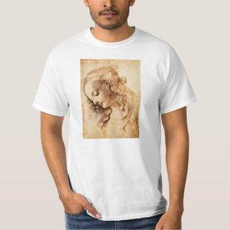 O t-shirt principal da mulher de da Vinci