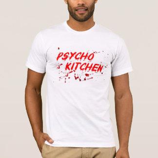 O t-shirt psicótico original da cozinha camiseta