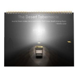 O tabernáculo do deserto calendário