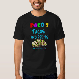 O Tacos de Paco (2-Sided) T-shirt