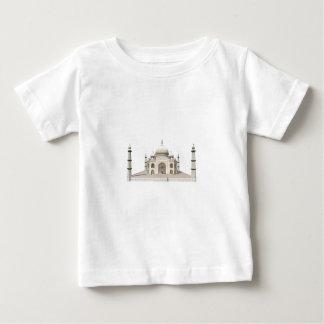 O Taj Mahal: modelo 3D: Tshirt