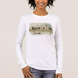 O Taj Mahal, túmulo do imperador Shah Jehan e Camiseta Manga Longa