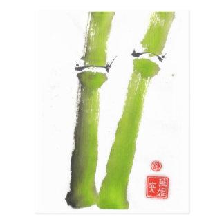 O Tao do cartão de bambu