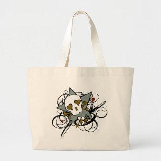O tatuagem da estrela do crânio inspirou o saco bolsa para compra